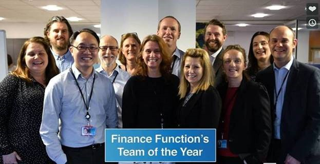 MCP2 client the Office for Students wins Government Finance Function 'Team of the Year' Award