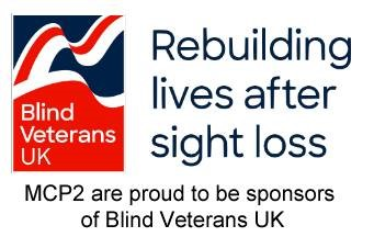 MCP2 supports Blind Veterans UK